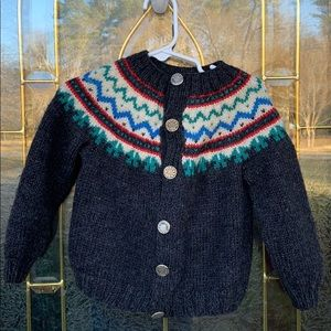 Other - Handmade wool sweater kids size 2T